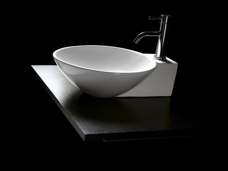 1000 images about lavabos de porcelana circular on pinterest for Embellecedor rebosadero lavabo