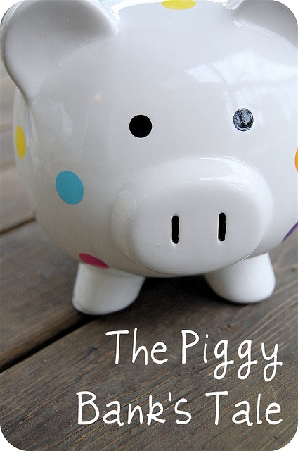 The Piggy Bank's Tale     Imprinted stock and custom banks