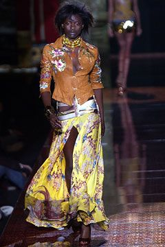 custom jewelry Roberto Cavalli Spring/Summer 2003 Ready-To-Wear