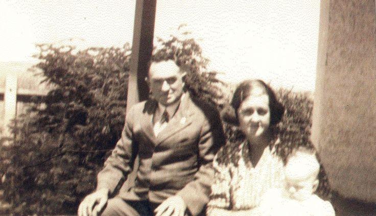 Stewart Ross & Mabel Phyllis Broughton 1925
