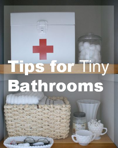 Tips And Tricks For How We Deal With A Very Small Bathroom Plus