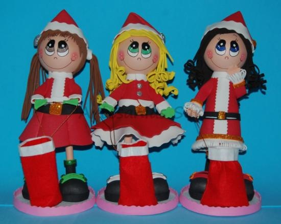 Fofuchas navideñas.