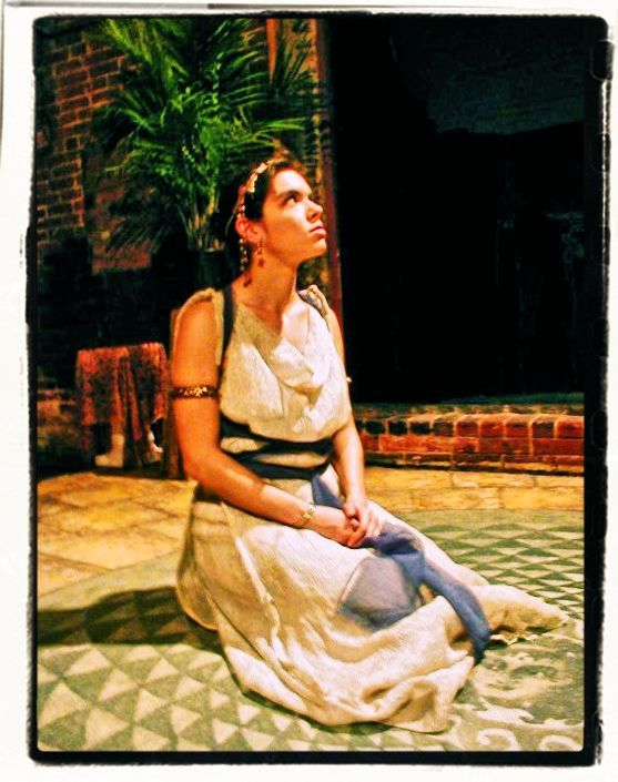 "E.J. as ""Salome"" in the Invisible Theater of Boston's Production of ""Salome"""