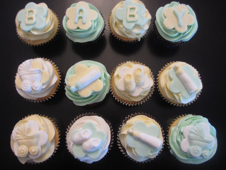 Baby shower cupcakes, is it  boy or a girl?