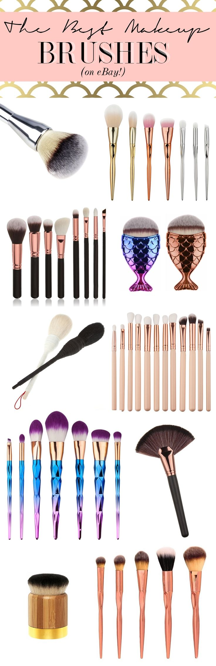 The Very Best Makeup Brushes on eBay Cheap makeup