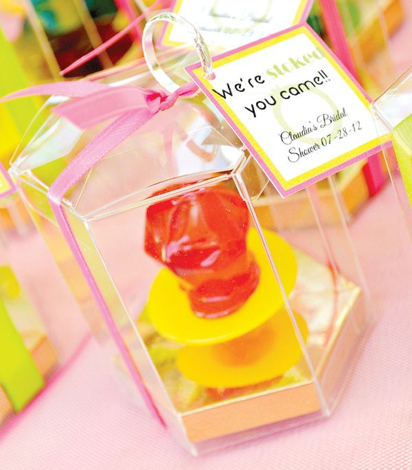 Totally Rad 80′s Bridal Shower {Neon & Lace!}