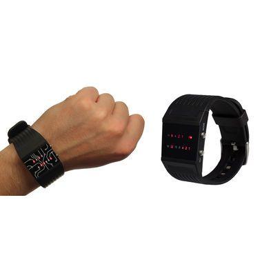 Du bist ein Streber und jeder soll es wissen? Oder dir sind normale Uhren einfach zu langweilig? Dann ist die binäre Armbanduhr genau das richtige für dich!