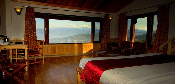 The breathtaking views of the Himalaya would be enough to entice anyone to embark on a journey to The Buransh Retreat, Kausani. Plan your trip today!