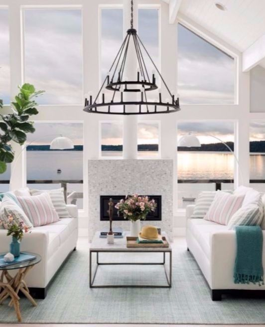 HGTV Dream Home 2018 in Gig Harbor Washington. Featured on Completely Coastal.