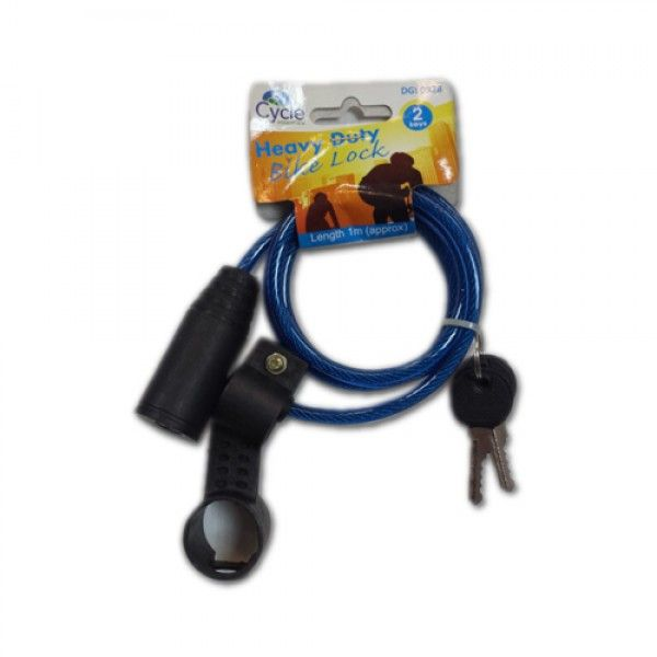Heavy Duty Bicycle Lock #Wholesale Supplies in #UK by Clearance King. Available for just £0.55 per piece. #bicyclelock #bikelock #wholesalelocks Order Now: http://goo.gl/e3mbQW