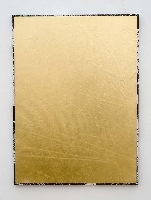 Roman Liška - Gold dazzle frame small (II), 2012