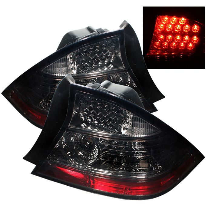Save 35% on 2004-2005 Honda Civic Smoke LED TailLights
