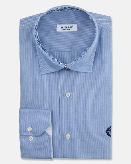 Çizgili Mavi Gömlek http://www.bisse.com/tr/p/773/mavi-cizgili-gomlek?variantId=2604