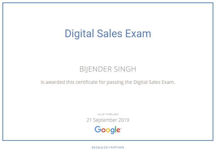 #digitalsales #adwordscertification #adwords #ppc #sales #certified #certification #google #digitalmarketing #sem #bijenderdigital