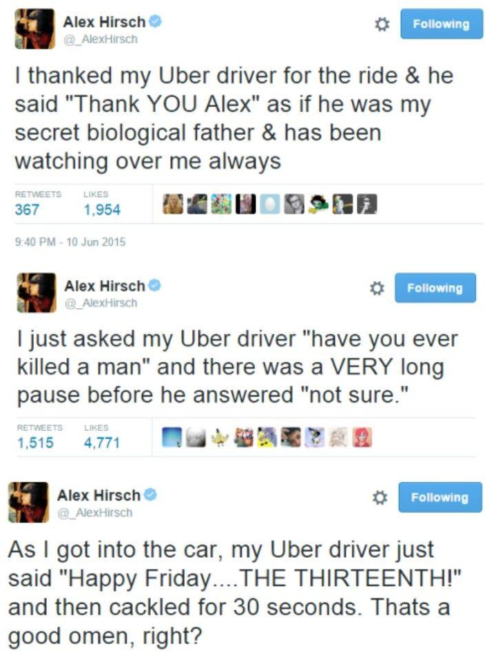 Alex VS Uber