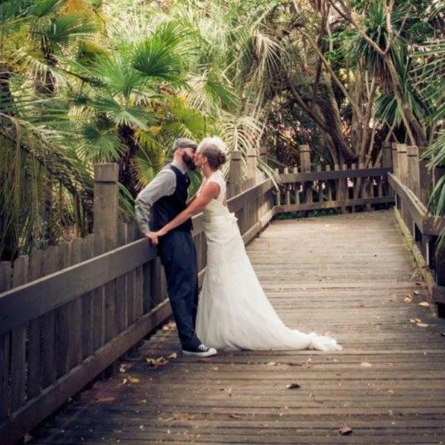 Balboa Park Wedding Photo