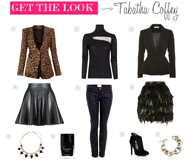 tabatha coffey fashion style | ... to add some of Tabatha's slick, take-charge style to your wardrobe