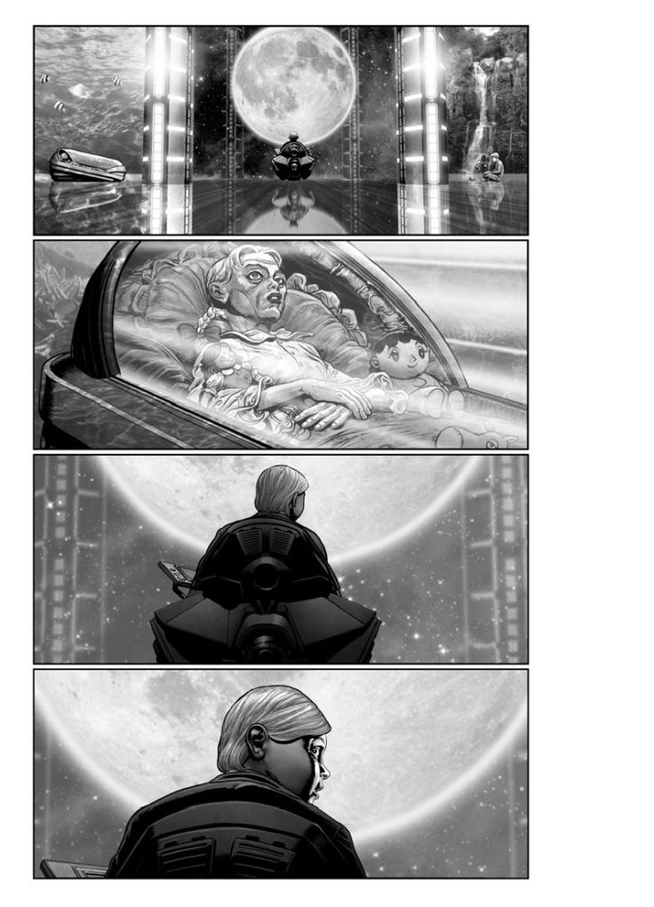 Insanely detailed storyboards for the live-action AKIRA movie by Chris Weston: