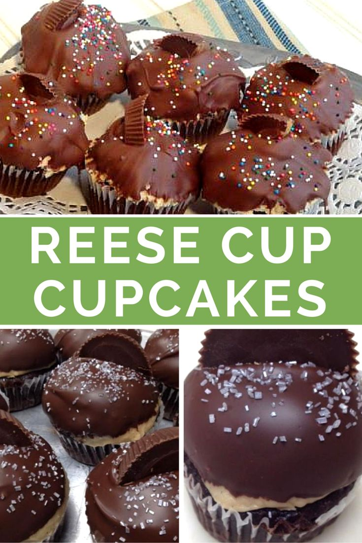 """""""Who doesn't love the great taste of peanut butter and chocolate?! These rich cupcakes will satisfy any sweet tooth! Easy to make. I made them for my family and they ate them all up. A total party hit!"""""""