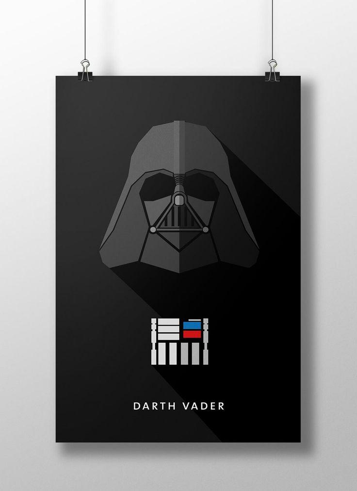 """Darth Vader, é um dos maiores vilões do cinema e nasceu como Anakin Skywalker, é o protagonista da trilogia prequela e antagonista da trilogia original da série de filmes Star Wars (Guerra nas Estrelas), tendo participado de seis episódios (A Ameaça Fantasma, Ataque dos Clones, A Vingança dos Sith, Uma Nova Esperança, O Império Contra-Ataca, O Retorno de Jedi) e dois spin-offs (Clone Wars e Rogue One). """"Para saber mais clique na imagem"""""""