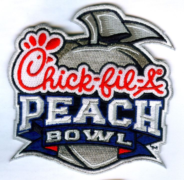Chick-Fil-A Peach Bowl Game Jersey Patch Ole Miss vs. TCU (2014)