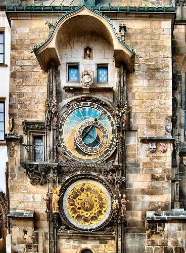 Astronomical Clock Tattoo: Prague : Horloge Astronomique.