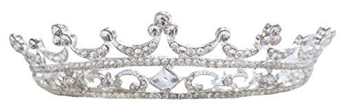 Sparkling Crystal Crown Headband Pageant Prom Wedding Tiara Party *** More info could be found at the image url.