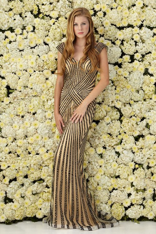 Art Deco Style Formal Dresses Fashion Design Images