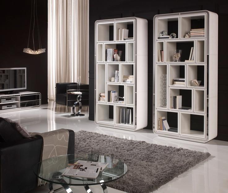 Librerias, salón, decoración Lámparas Enrique #salon #lamps
