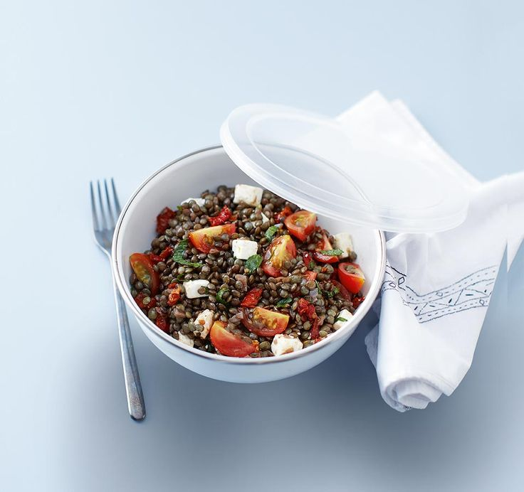 Looking to save money during the week? Dump the sandwich shop and try this tasty puy lentil salad for lunch instead.