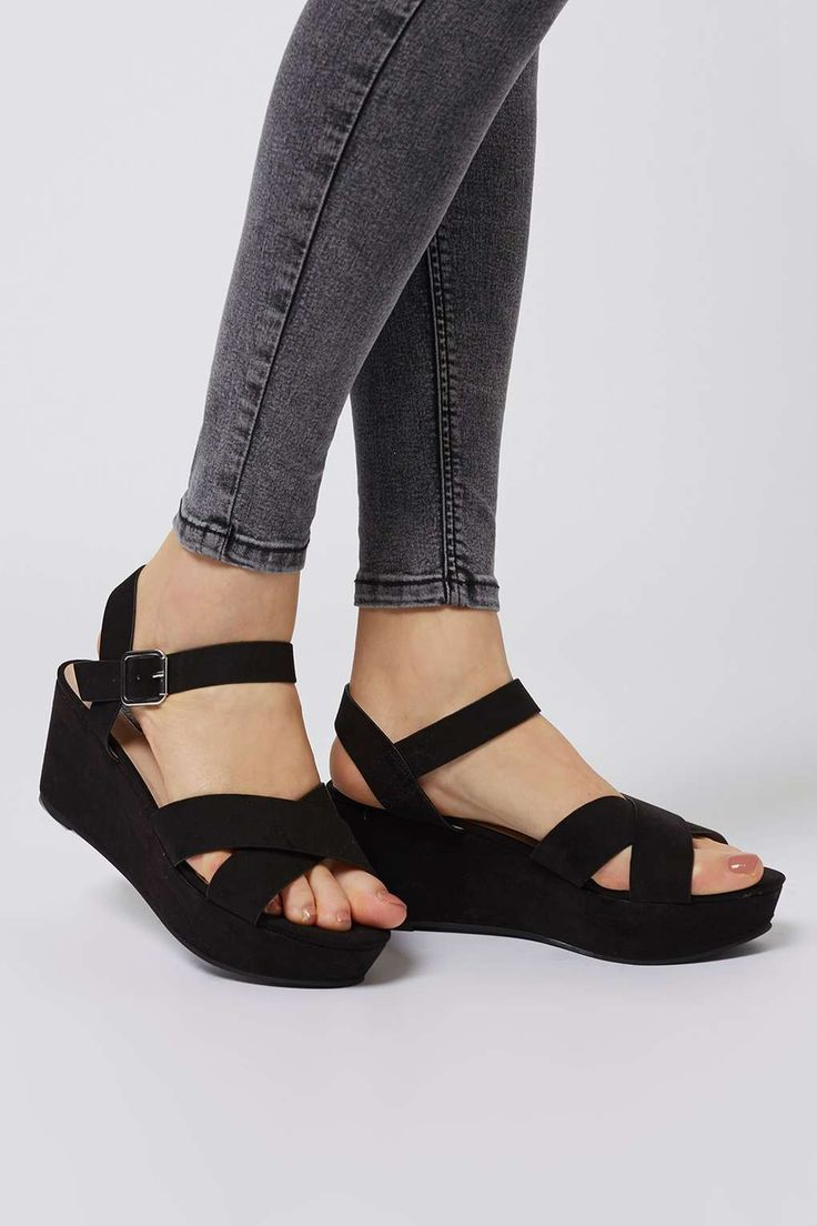 HIPPY Wedge Shoe. Like the wedge that leaves my foot in a more natural position.