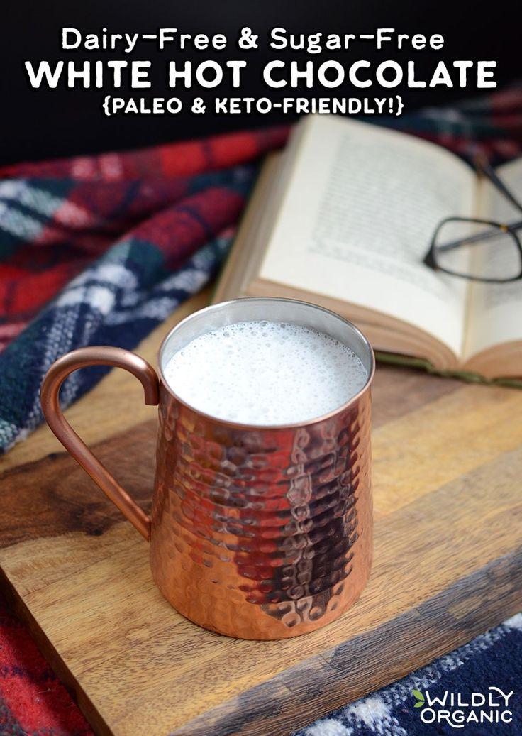 This DairyFree & SugarFree White Hot Chocolate is meant