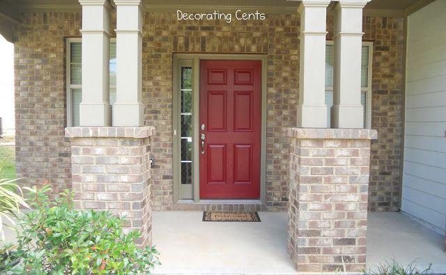 Top 25 Ideas About Red Front Doors On Pinterest Red Door