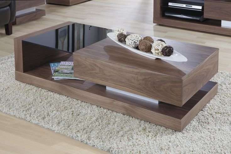 ual Furnishings Cube Coffee Table in Walnut - JF613CT. Excl. Vat: £290.83 Incl. Vat: £349.00 Jual Furnishings Cube Coffee Table in Walnut Finish with Clear Glass This modern design features a blend of real wood veneers, contemporary glass and brushed stainless steel to deliver its ultra modern and attractive design. With it's built in storage drawer this coffee table is ideal for the modern home as it helps to keep clutter neatly hidden away out of site
