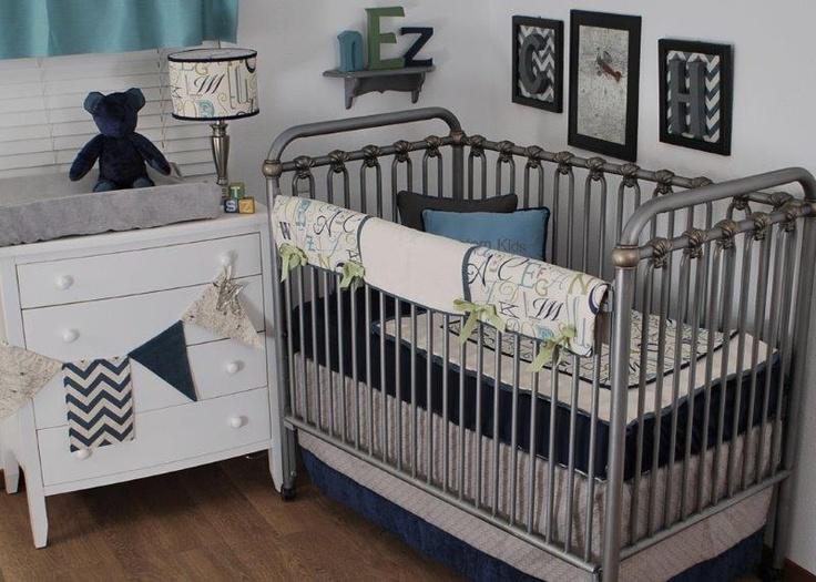 alphabet crib bedding 2