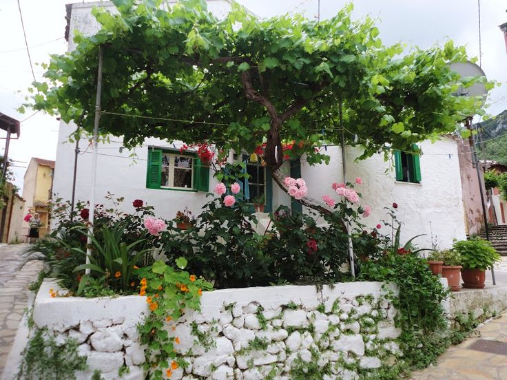 benitses Village Corfu Greece Photo from Benitses in Corfu | Greece.com