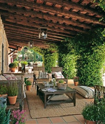 Love the feel of this stunning patio and outdoor space. Labor Junction / Home Improvement / House Projects / Deck / Outdoor / House Remodels / www.laborjunction.com