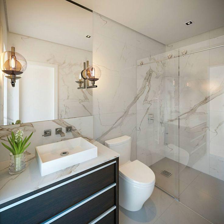 242 Best Calacatta Gold Marble Tile Luxury Bathroom Design