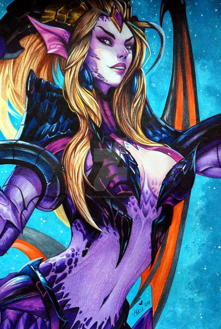 Zyra Dragon Sorceress by Krystal89IT.deviantart.com on @DeviantArt