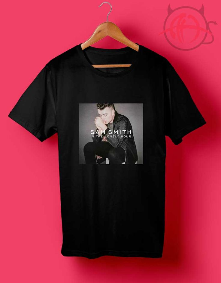 Sam Smith In The Lonely Hour T Shirt //Price: $14.50
