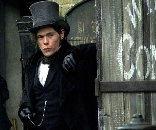 Bleak House 2005--Mr. Guppy.  Yes, he looks shifty here, but he's not really.  A bit obsessed, but not shifty.