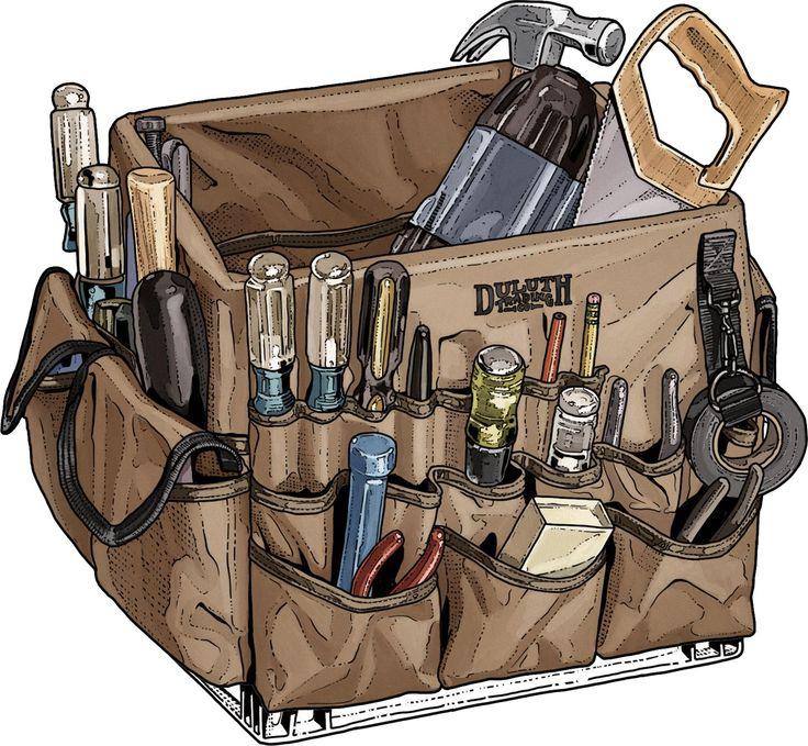 """The reliable milk crate is a handy way to haul your tools. Want to turn it into a tool organizer powerhouse? Grab the Crate Master – 48 pockets to hold your gear. Load it up and say """"Holy cow!"""""""