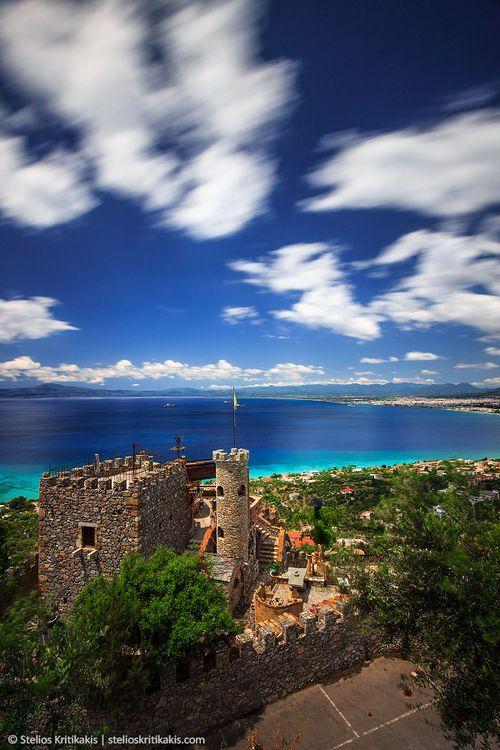 Old Fortress in Kalamata, Messinia, Peloponnese,Greece