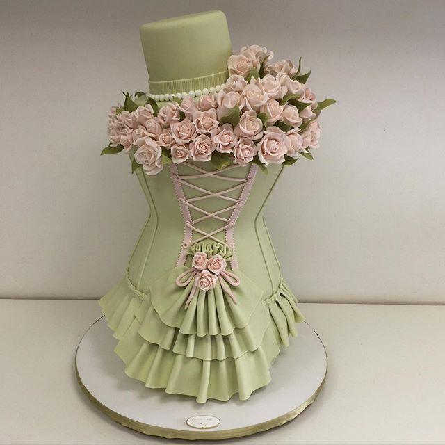 78 Best Ideas About Corset Cake On Pinterest