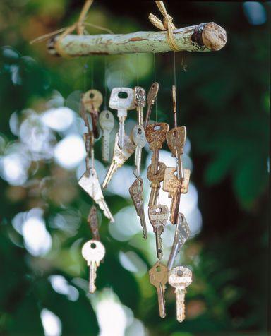Scacciapensieri: fai da te decorazioni giardino | Donna Moderna