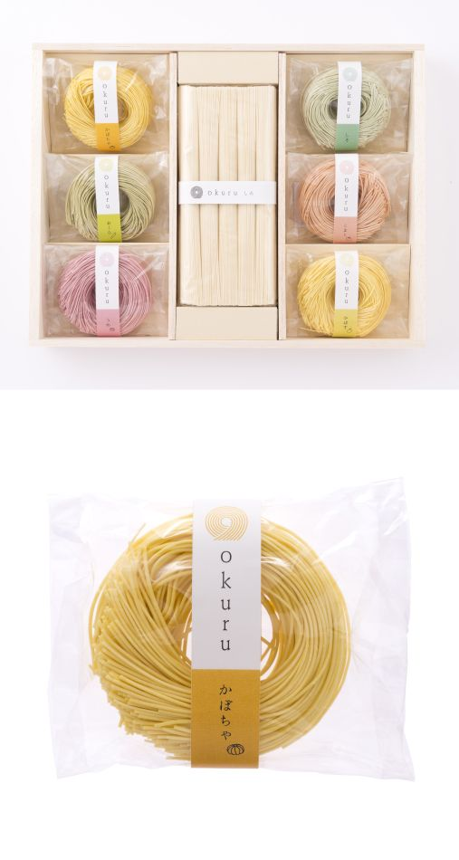 okuru パッケージ - WORKS 六感デザイン ロゴや販促物を制作する、福井のデザイン事務所です