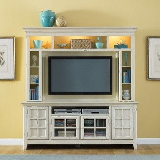 tv unit (would need a dark wood color though! Not a fan of white!)