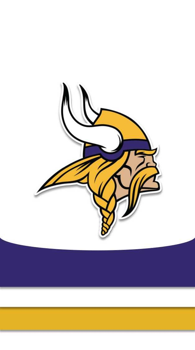 I Made Phone Wallpapers Based On The Jerseys Of Every Nfl Team With Throwbacks As An Added Bonus Minnesota Vikings Football Vikings Football Nfl