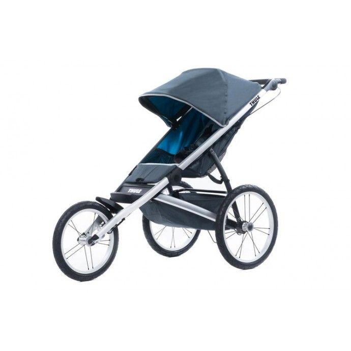 """Thule Gilde juoksurattaat, 449,95 €. Aerodynaaminen ja kevyt THULE Glide juoksurattaat 14"""" eturenkaalla ja 16"""" takarenkailla. Glide rattailla yhdistät lapsen ulkoilun ja kuntoilun näppärästi! Ilmainen kotiinkuljetus! #juoksurattaat #rattaat #lastenrattaat"""