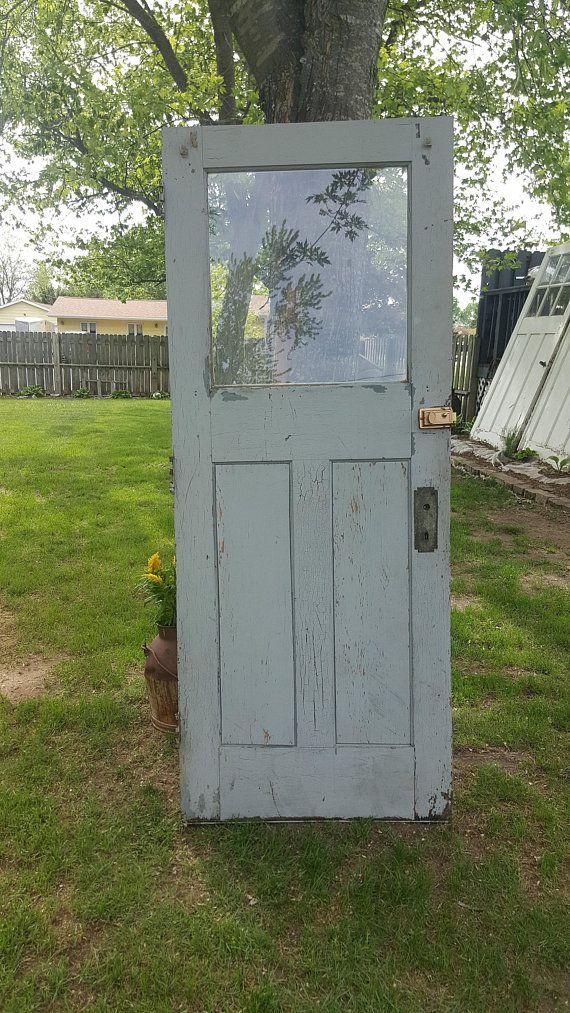 Architectural Salvage Craftsman Doors Old Wood Exterior Doors Old Doors With Windows Wood Exterior Door Front Doors With Windows Traditional Front Doors